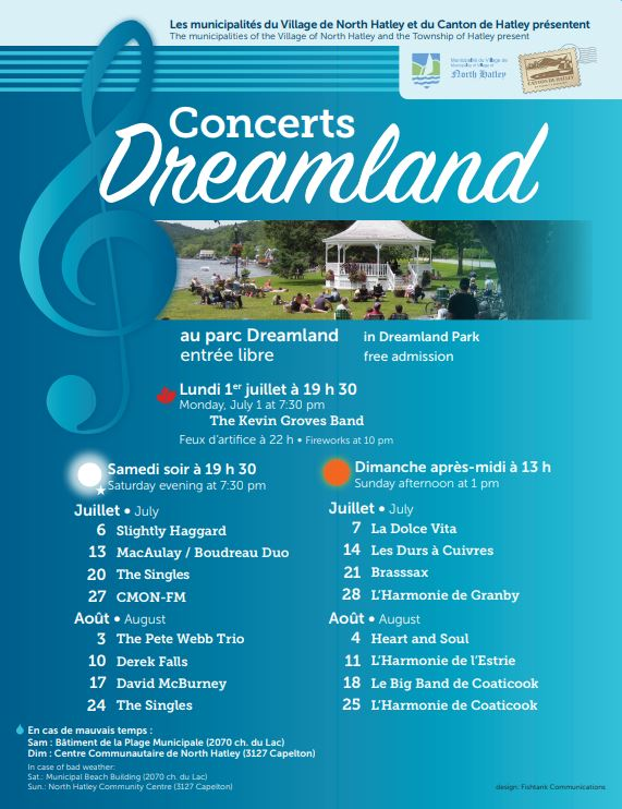 Concerts Dreamland Concerts
