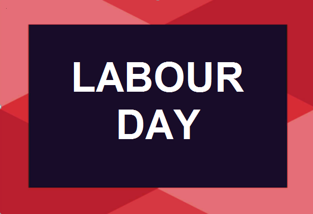 Labour Day – Closing of the Municipal Office